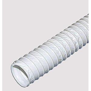Tubo de salida de aire flexible de 4 metros/150 mm, manguera de PVC: Amazon.es: Hogar