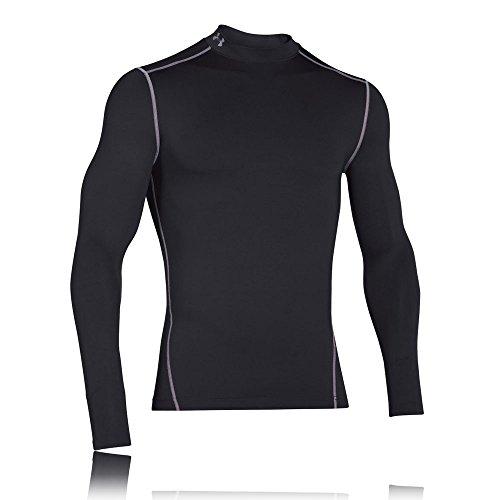 Under Armour Men KompressionsMockShirt ColdGear Armour Ultra-Warm, Long-Sleeve Functional Shirt for, Schwarz, XL