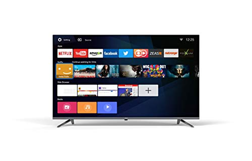 Coocaa 40S3N 40 Zoll Full HD Smart LED Fernseher (101 cm), Triple Tuner, Prime Video, Netflix, YouTube (HDMI, CI-Slot, USB, digital Audio)