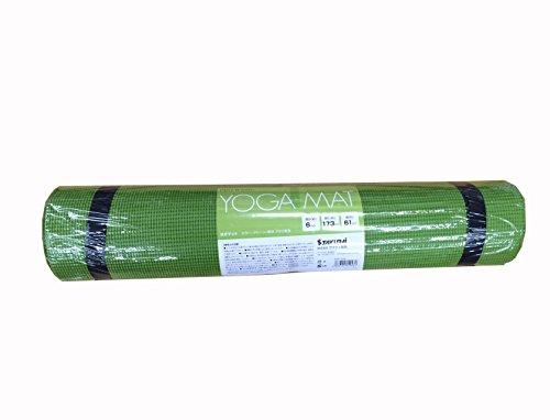 サクライ貿易(SAKURAI) PRO-WING(プロウイング) フィットネス ヨガマット 厚さ6mm グリーン PWF-05GR
