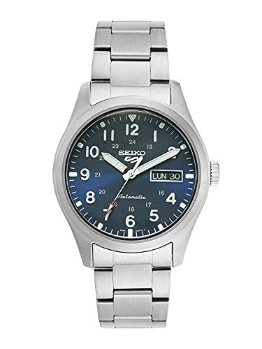 SEIKO,Blue,SRPG29K1 5 Sport Men's Automatic 'Military' Watch SRPG29K