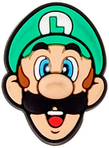 crocs Super Mario Luigi Schuhanhänger, Mehrfarbig (-), Einheitsgröße