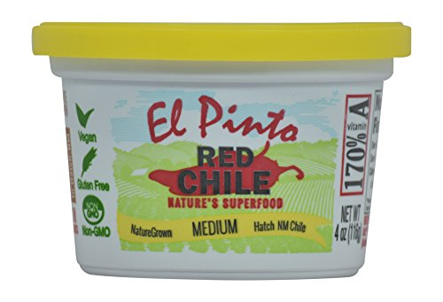 El Pinto Medium Hatch Red Chile Sauce (4 Ounce, 6 Pack)