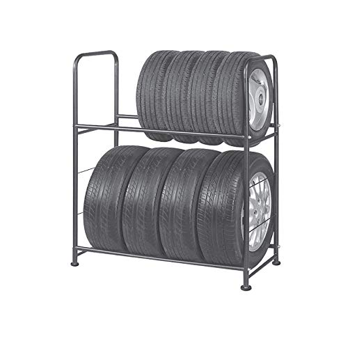 Tire Rack – Metal, Adjustable, Tire Stand & Protective Cover, Included 4 Adjustable non rolling Legs