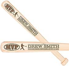 LifeSong Milestones Personalized Baseball MVP Most Valuable Player Coachs Gift Custom Engraved Baseball bat Thank You Sports Award Gift