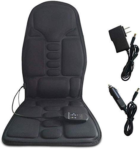 XLAHD Car Massage Cushion Car Home Portable Body Neck Massager Car Massage Cushion Pillow Massage Cushion DC 12V / AC 110-240V 50-60Hz