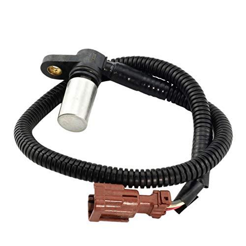 JIABIN Songz Store Sensor de Velocidad de automóvil Apto para Nissan Versa Sentra CAS0005 1.6L 1.8L 2007-2012 31935-3AX0A 31935-3AX0B (Color : Black)