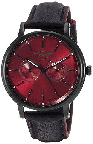 MINI Reloj Analógico para Hombre de Cuarzo con Correa en Cuero MINI160627