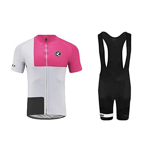 Uglyfrog Bike Wear Salopette Ciclismo Optimum-Pantaloncini da Ciclismo da Uomo con Imbottitura in Gel Pantaloncini Aderenti Regalo per Gli Amanti della Bicicletta da Ciclismo