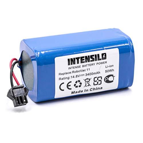 INTENSILO Akku passend für Eufy Robovac 11, 11S Saugroboter ersetzt Eufy 4INR/19/66 - (Li-Ion, 2200mAh, 14.8V) - Batterie, Ersatzakku