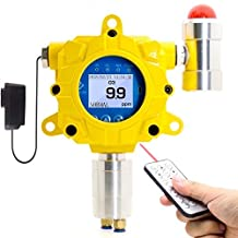 Ozone Detector by Forensics   Industrial Grade   Continuous Monitoring   Remote Control   Explosion Proof   Sound & Light Alarms   Relay Output   0-20ppm O3  