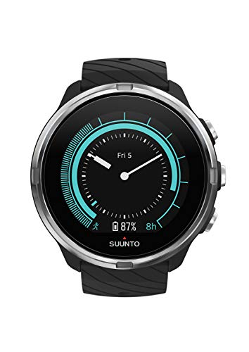 Suunto 9 Watch, Unisex Adult, Black, One Size