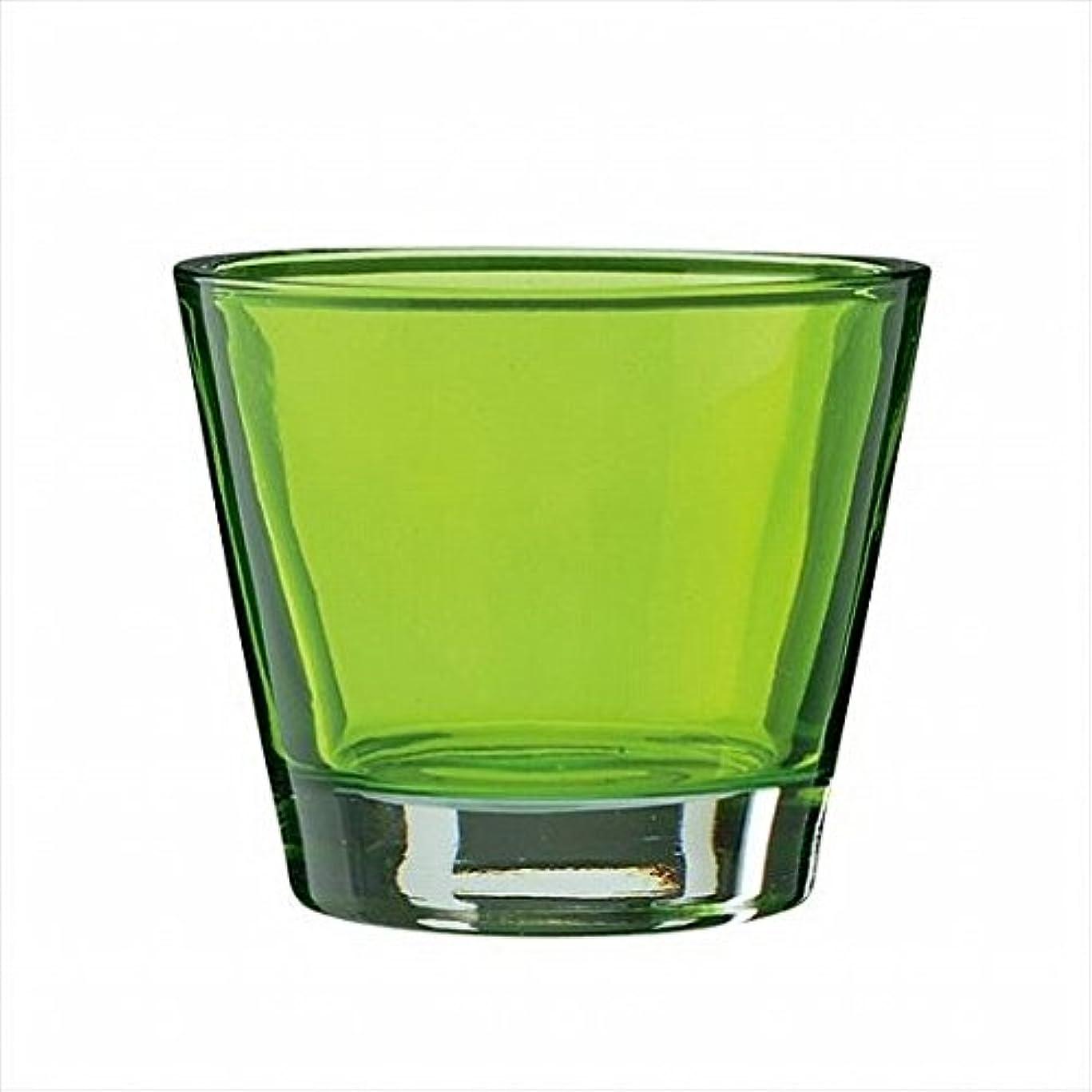 感嘆バイオレット十分ですkameyama candle(カメヤマキャンドル) カラリス 「 グリーン 」 キャンドル 82x82x70mm (J2540000G)