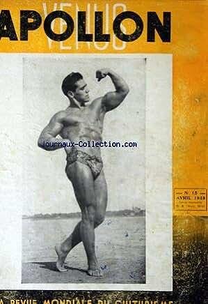 APOLLON VENUS [No 15] du 01/04/1949 - REVUE MONDIALE DU CULTURISME