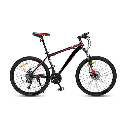 MH-LAMP MTB Hardtail, Mountainbike Fahrrad 20 Zoll, Fahrrad mit Gabelfederung, Fahrrad MTB Scheibenbremse, Rahmen Aus Kohlenstoffstahl, Sitz mit Schnellverschluss,27 Speed