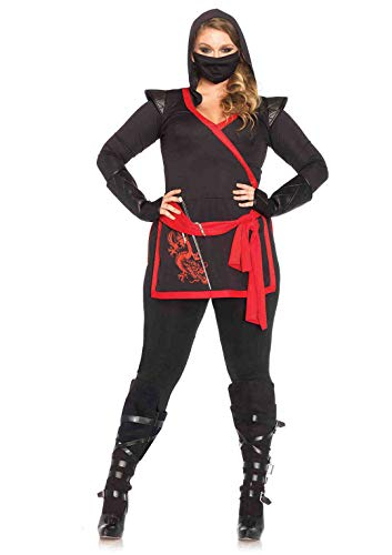 Leg Avenue 85422X - Ninja Assassin dames kostuum (oversize)