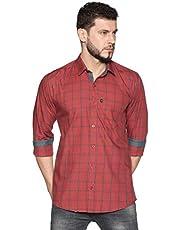LEVIZO Men's Regular Fit Shirt