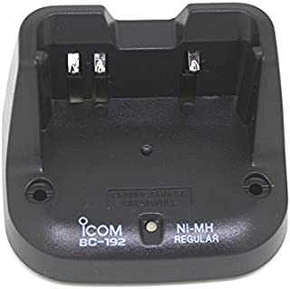 CQtransceiver BC-192 Desktop Charger for BP264 battery for Icom Radio IC-T70 F3102D F3103D F4102D F4103D