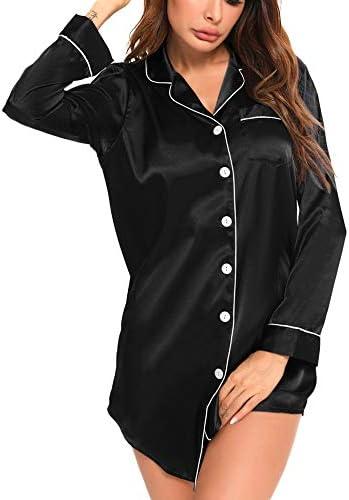Top 10 Best satin sleep shirts for women Reviews