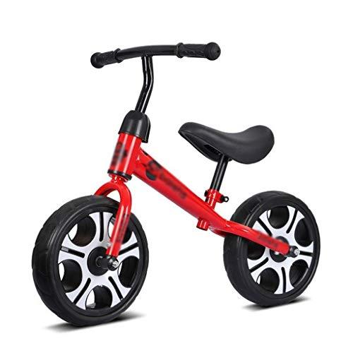 Stone Home Balance Fahrrad Mutifunction Scooter Wanderer Fahrrad Balance Fahrrad Dreirad for 2-6 Jahre alte Kinder for Babys Kleinkinder (Color : Red)
