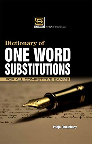 One Word Substitutions For All Competitive Exams (SD Publication)