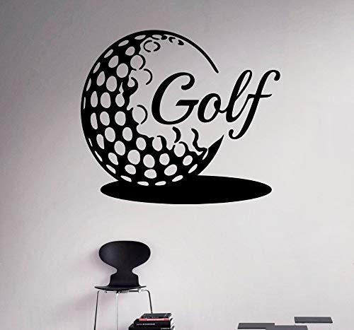 42x48cm Golf Ball Wall Vinyl Decal Golf Emblem Sports Wall Sticker Home DIY Interior Wall Bedroom Decoration Art Vinyl - Mura