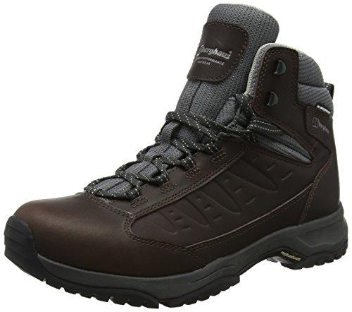 Berghaus Exped Ridge 2 Tech, Zapatos de High Rise Senderismo para Mujer, Marrón (Brown/Grey BEA), 41.5 EU