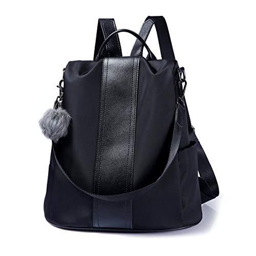 LOSMILE Damen Rucksack Handtaschen Nylon Daypack Umhängetasche Reiserucksack Schulrucksack Backpack...