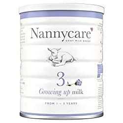 NUTRITIONALLY TAILORED goat milk formula to help support the nutritional needs of toddlers from 1-3 years. WHY GOAT MILK? At Nannycare, we have specialised for 30 years in goat milk formula for babies and toddlers because we believe goat milk to be t...