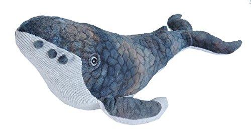 Wild Republic Humpback Whale Plush, Stuffed Animal, Plush Toy, Gifts for Kids, Cuddlekins 20 Inches