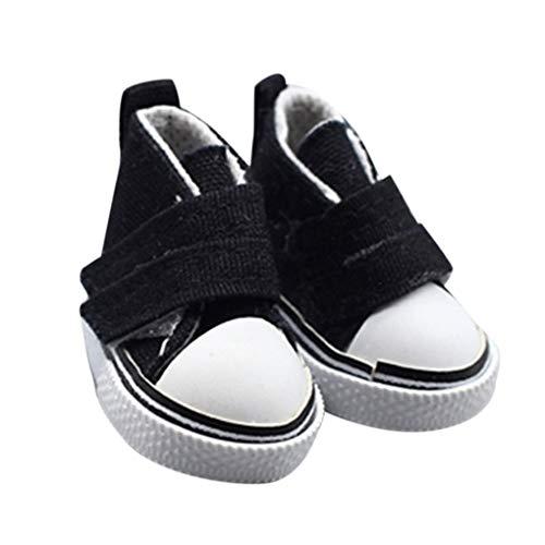 Guangcailun 1 Zapatos de Lona muñeca Par 5 cm seakers muñeca de Juguete Calzado Deportivo Zapatillas de Tenis para niños Juguetes del Regalo