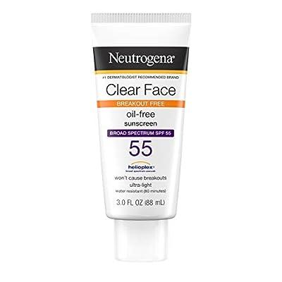 Neutrogena Clear Skin Sunscreen Lotion, SPF 55, 89 ml by Neutrogena