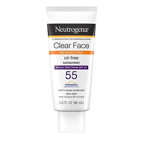 Neutrogena Clear Skin Sunscreen Lotion, SPF 55, 89 ml - Sonnenschutz