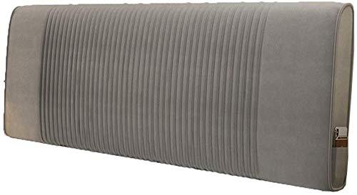 Cojín- Cojín cabecero Respaldo Cama de la Almohadilla del Respaldo del Amortiguador cabecero Suave Bolsa Trasera Grande Tela Estilo Moderno IKEA Simple Lavable