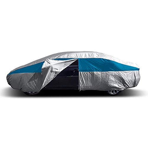 Titan Lightweight Car Cover (Bondi Blue) Compatible with Camry, Mustang, Accord and More. Waterproof...