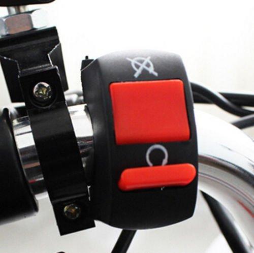 Interrupteur universel pour guidon de moto - 22 mm - ON-OFF