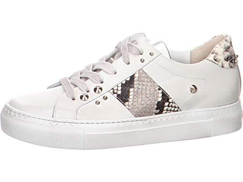 Paul Green Damen Sneaker 0064-7475-034/Sandalette 4803-014 weiß 672367