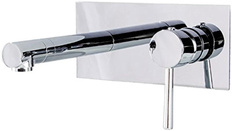 Retro Deluxe Faucetinging Wasserhahn All-Kupfer-Versenktes Becken In Die Wand-Wash Wash Face Becken Waschbecken Heien Und Kalten Wasserhahn Set
