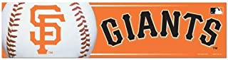 WinCraft MLB San Francisco Giants Bumper Sticker, Team Color, One Size