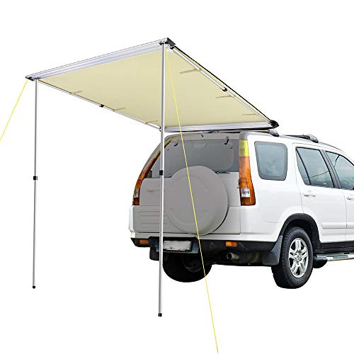 """Senllen Car Tent Fully Automatic 189/"""" Large Size Hot Summer Anti-UV Wireless Control Vehicle Umbrella with Removable Charger Windproof Carport for SUV Truck"""