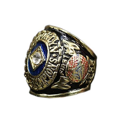Fei Fei MLB 1955 Brooklyn Dodgers Championship Ring Anillos de Campeonato Personalizado para Fanáticos Día de San Valentín,Without Box,11#