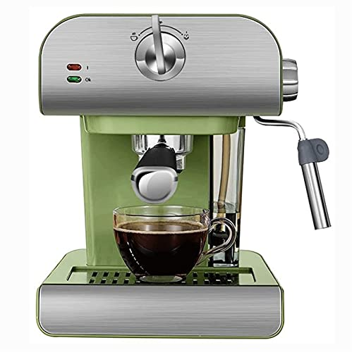 HMBB Máquina de espresso Máquinas Cappuccino con bomba de alta presión de 20 bar y tanque de leche potente for Barista Brewing,Funciones múltiples for Espresso/Moka/Cappuccino