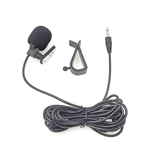 Luoshan 2,5 mm ZJ015MR Mono Recto Pasta de tapón de navegación de DVD del Coche de un micrófono Exterior, Longitud: 3m