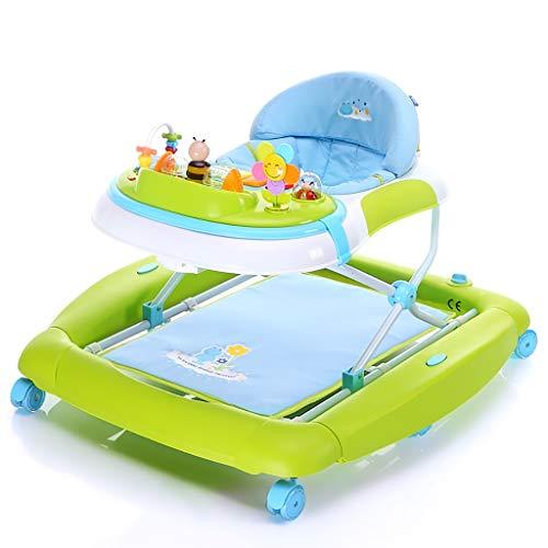 LFY El Caballo de oscilación Variable antirrugas Multifuncional del Caminante del bebé, se Puede Utilizar como Silla de Cena Andador para bebés