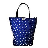 BabyBall Einkaufstasche mit Boden und Langen Henkeln/Shopper Bag aus Baumwolle, 40x45 cm groß,...