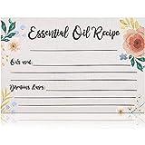 Essential Oil Recipe Cards (4 x 6 in, 50 Pack)
