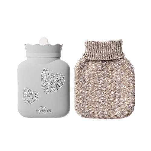 SGZBY Handwärmer Mini Silikon Wärmflasche Wasser Warm Handschatz Warmwasserbeutel Mini Warm Baby Geburtstagsgeschenk