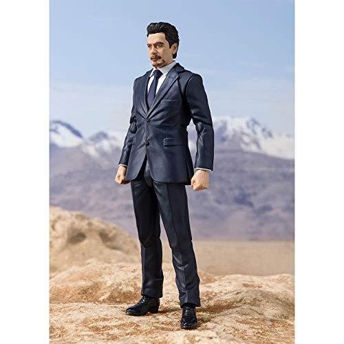 Bandai Tamashii Nations Iron Man S.H. Figuarts Action Figure Tony Stark (Birth of Iron Man) 15 cm