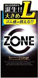 ZONE ゾーン コンドーム Lサイズ 6個入×6個