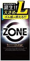 ZONE ゾーン コンドーム Lサイズ 6個入×4個